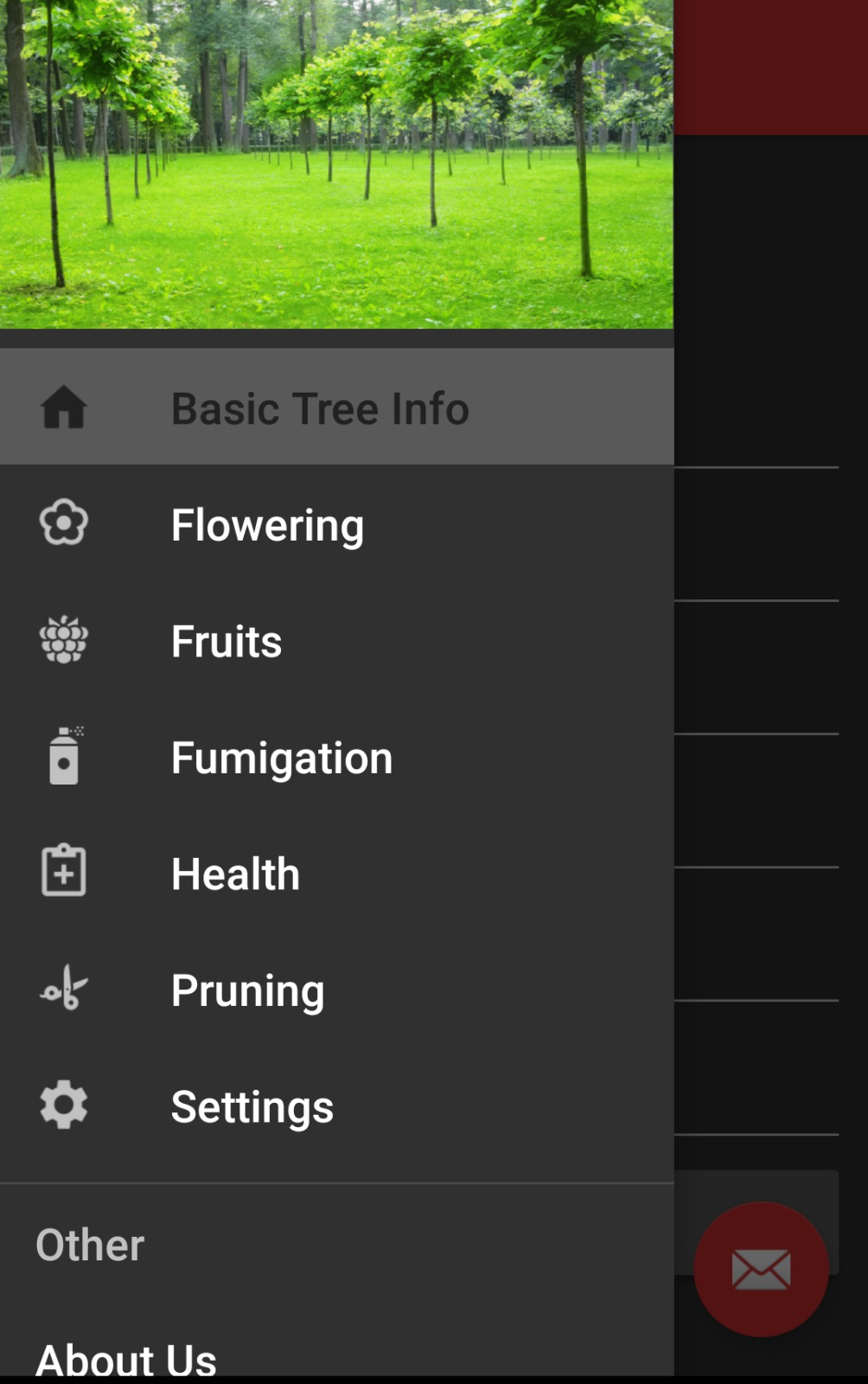 Tree Manager App